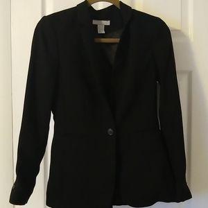 H&M blazer black size 6